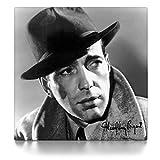CanvasArts Humphrey Bogart - Leinwand Bild auf Keilrahmen