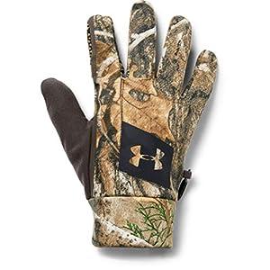 Under Armour Mens Hunt Early Season Fleece Gloves