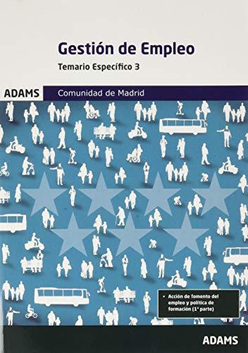 Gestion De Empleo Temario Especifico 3 Comunidad De Madrid