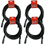 Strukture XLR Microphone 20ft Cable 6mm Rubber (4...