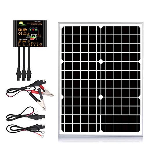 Suner Power 20W 12V Off-Grid Solar Panel Kit