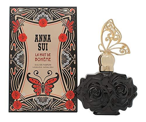 Anna Sui - Profumo da donna La Nuit de Boheme, Eau de Parfum, confezione da 1 (1X 75ml)