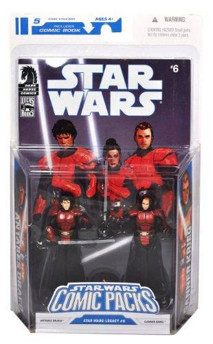 Star Wars Clone Wars Action Figure Comic 2-Pack Dark Horse:...