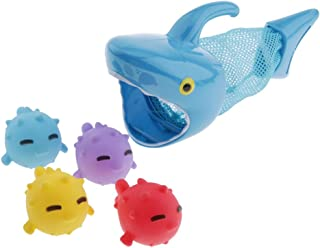 simhoa Blue Shark Interactive Bath Toy for Boys and Girls Baby Toddlers Water Toys