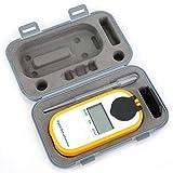 Strumento di misurazione del rifrattometro per misuratore di concentrazione di vino e zucchero per alimenti digitali, può essere misurato in tre secondi un tipo di zuccheri da frutta(DR103)