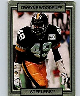1990 Action Packed #228 Dwayne Woodruff Steelers NFL Football