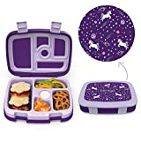 Best Bento Box For Kids - Bentgo Kids Prints (Unicorn) - Leak-Proof, 5-Compartment Bento-Style Review