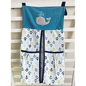 516IOIaTplL._SS300_ Nautical Crib Bedding & Beach Crib Bedding Sets