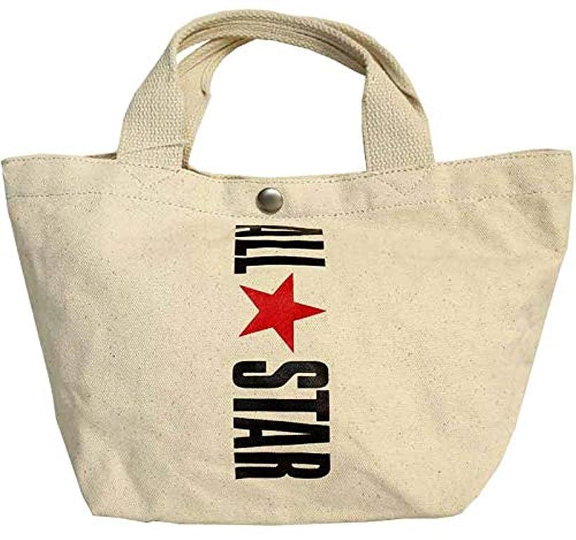 クリープ資源借りている[コンバース] キャンバス ミニ トートバッグ オールスター ロゴプリント A5 14030800 ALL STAR CANVAS MINI TOTE BAG