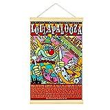 WPQL Lollapalooza Konzert- und Festival-Poster zum