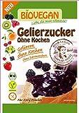 Zucchero Gelificante Biologico Senza Cottura Sacchetto Da 115g BIOVEGAN | Zucchero Gel Senza Acido Citrico - Marmellate Vegane Senza Glutine