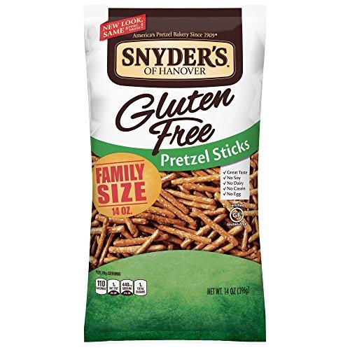 Snyder's of Hanover Gluten Free Pretzel Sticks, 14 Ounce