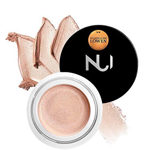NUI Cosmetics Natural Illusion Cream PUAWAI - Naturkosmetik vegan natürlich glutenfrei - Cream-to-Powder Highlighter mit schimmerndem Roséton