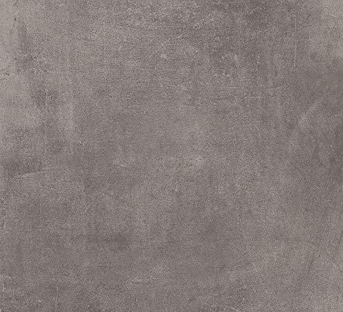 Gartenwelt Riegelsberger 21,6 M² KERAMIKPLATTE Cemento Black 60x60x2CM FEINSTEIN MODERN FROSTSICHER TERRASSE FEINSTEINZEUG BODENPLATTEN TERRASSENPLATTEN Made IN Italy