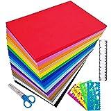 Supla 96 Sheets 16 Colors EVA Foam Handicraft Sheets 2mm Thick Craft Foam Sheets 9' x 6' Assorted Colorful...