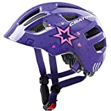 Winora Cratoni Casco de Bicicleta, Unisex Adulto, Estrella/púrpura Brillante, Extra-Small/Small