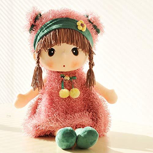 URFEDA Bambola di pezza bambola coccola Roya Liying Bella bambola , vestiti e Baby doll Bambola coccola bambola Regalo di battesimo Peluche Giocattoli di peluche per bambini Neonata 45CM