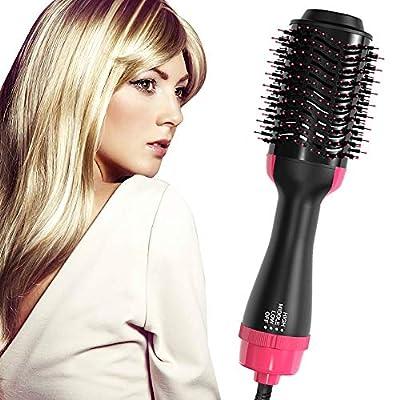 One Step Hair Dryer & Volumizer Blow Dryer Brush, Ceramic Hot Air Brush Styler and Dryer Negative Ion Hair Dryer Brush