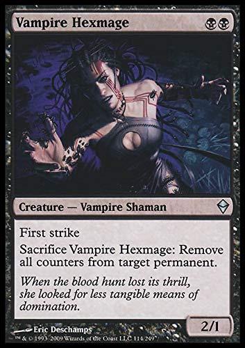 Magic The Gathering - Vampire Hexmage (114) - Zendikar