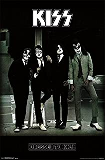 Trends International Kiss Dressed to Kill Wall Poster 22.375
