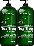 New York Biology Tea Tree Shampoo and Conditioner Set...