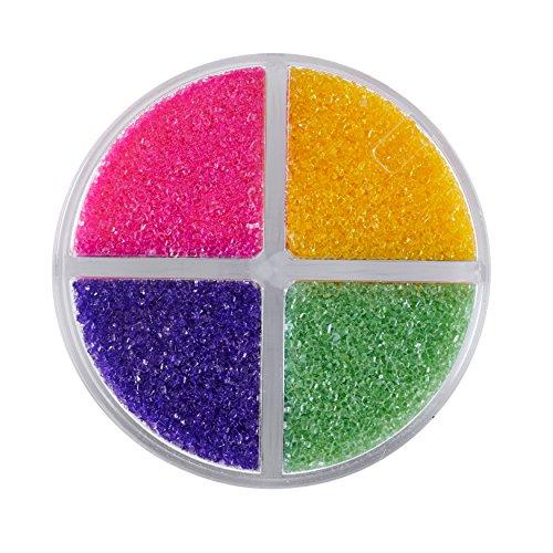 Wilton Colored Sugar Sprinkles Medley Baking Supplies, 4.4 oz, Bright Multicolored