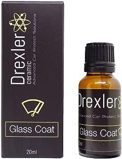 Drexler Ceramic Glass Coat 20ml Ceramic Coating Windshield Hydrophobic Protection 9H for Glass Parts