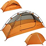 Clostnature Lightweight Backpacking Tent - 3 Season Ultralight Waterproof Camping Tent, Large Size...