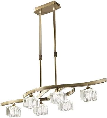 Addison LED Deckenleuchte 2800 Lumen 150 cm Chrom