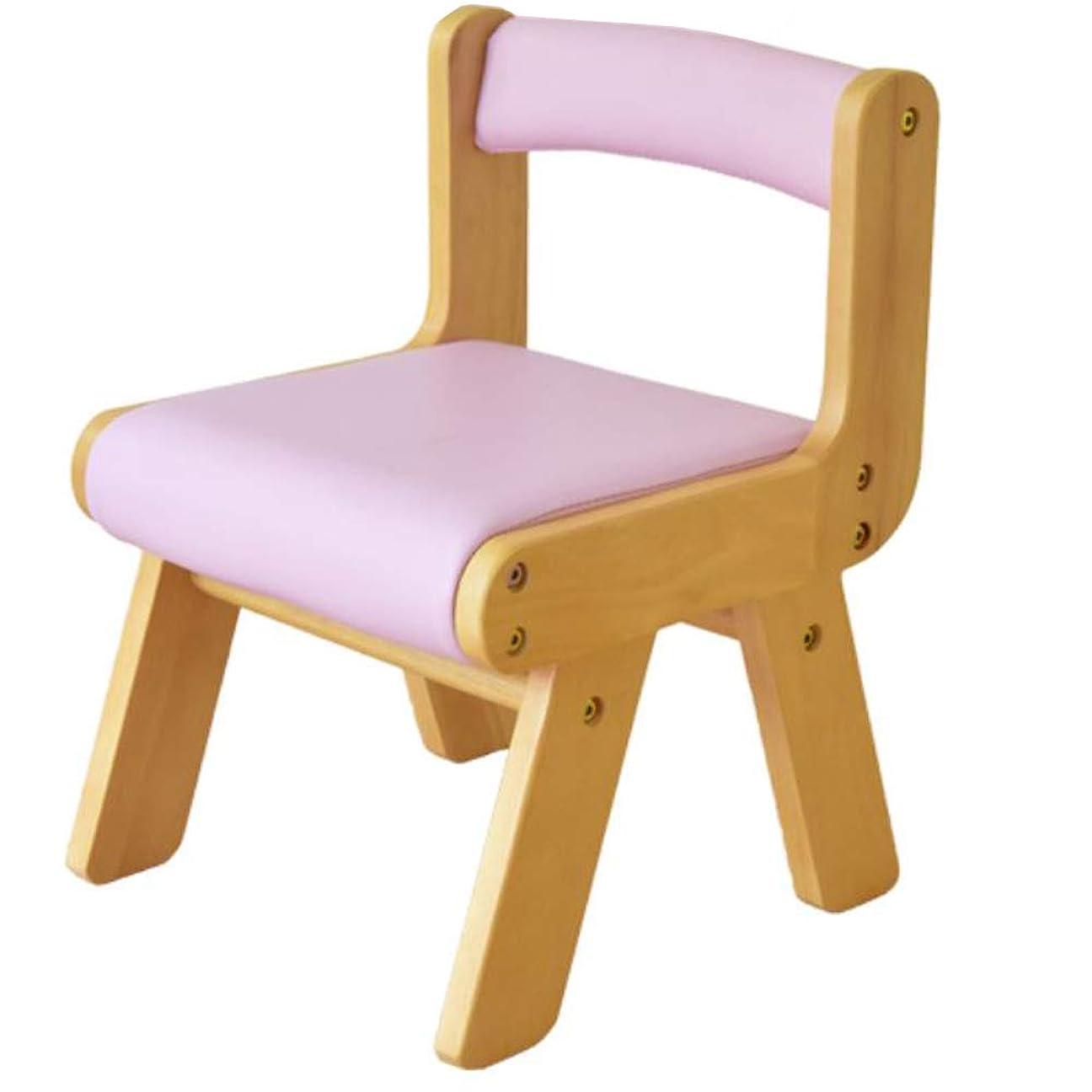 間接的だらしないつづりKidzoo(キッズーシリーズ) PVCチェア肘なし (ピンク)