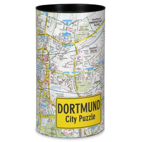 Extragoods City Puzzle Dortmund Premium Puzzle Erwachsenenpuzzle Spiele Puzzle Städtepuzzle