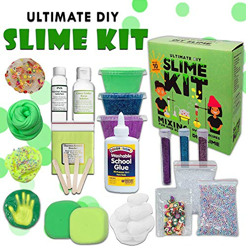 Baby Mushroom Ultimate Slime Kit - 10 Slimy Science Experiments | Fun and...