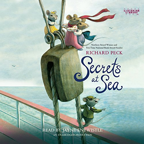 Secrets at Sea audiobook cover art