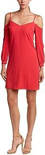 Julia Jordan Women's Long Sleeve Sweetheart Neckline Cold Shoulder Dress
