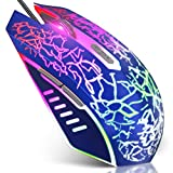 VersionTECH. Wired Gaming Mouse, Ergonomic USB Optical Mouse Mice with Chroma RGB Backlit, 1200 to 3600 DPI for Laptop...