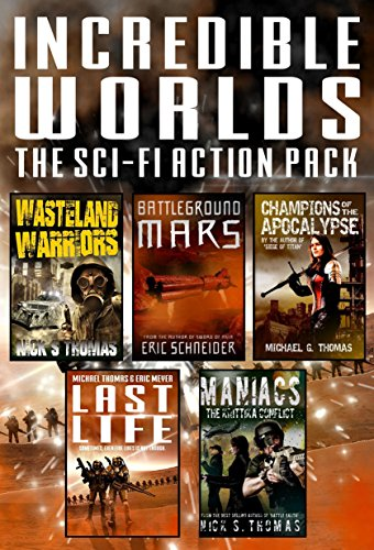 Incredible Worlds - The Sci Fi Action Pack (5 Full Length Books) (Incredible Worlds Box Set Book 1) (English Edition)