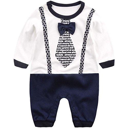 Recién Nacido Niños Pijama Algodón Mameluco Peleles