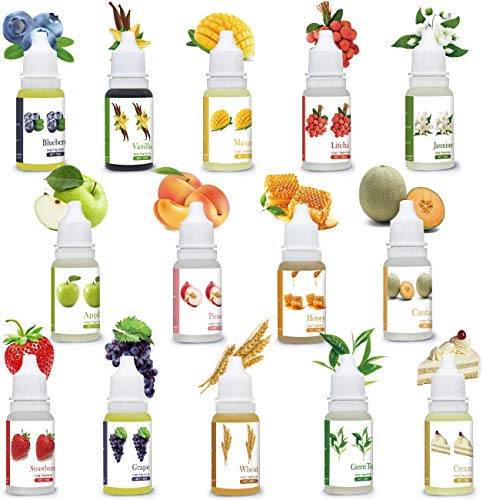 sopalmy Seifenduftöl, 14 Flüssig Duftöl Seifen Duft Set - lebensmittelechte Seifenduftöl zur Badekugeln, Seifenherstellung, air freshener, Schleim, für Kosmetik, Kunst und Handarbeit.