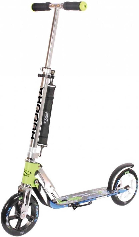 hasta un 70% de descuento City Scooter Big Wheel Hudora Alu Alu Alu 8  205 verde azul 205mm  edición limitada en caliente