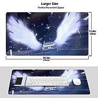 頭文字D コンピューター マウスパッド 大型 FPSゲーム 多用途の A2 マウスパッド 水洗い 防水 滑り止め キーボードパッド