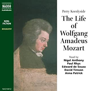 The Life of Wolfgang Amadeus Mozart cover art