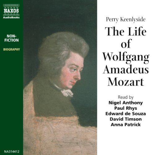 The Life of Wolfgang Amadeus Mozart Titelbild