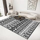 alfombras de baño Alfombra Gris Oscuro Resistente al Lavado de Agua Alfombra de balcón Simple alfombras Dormitorio pie de Cama -Gris Oscuro_200x300cm