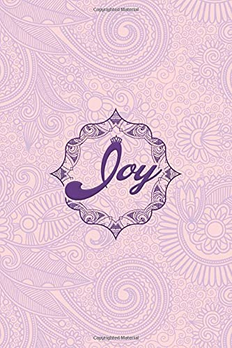Joy - i'm Joy, nootbook: Ruled 6x9 - 100 pages Ruled writing journal lined. diary. notebook