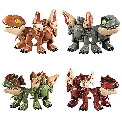 Weelth Robot Dinosaurio , Juguete Dinosaurio 2 en 1, Adecuado para Niños Mayores de 6 Años