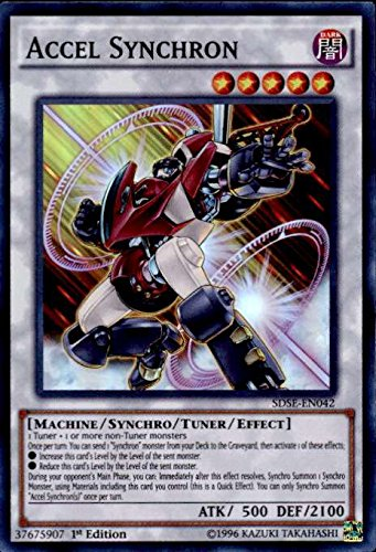 YU-GI-OH! - Accel Synchron (SDSE-EN042) - Structure Deck: Synchron Extreme - 1st Edition - Super Rare