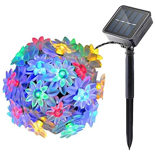 Yuffoo Cadena de luces, luces LED que cambian de color, luces de hadas, alimentadas por USB, impermeable, para exteriores, patio, jardín, fiesta, Navidad, decoración de árbol de boda
