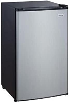 Magic Chef 4.4 Cu. Ft. Mini Refrigerator, Stainless