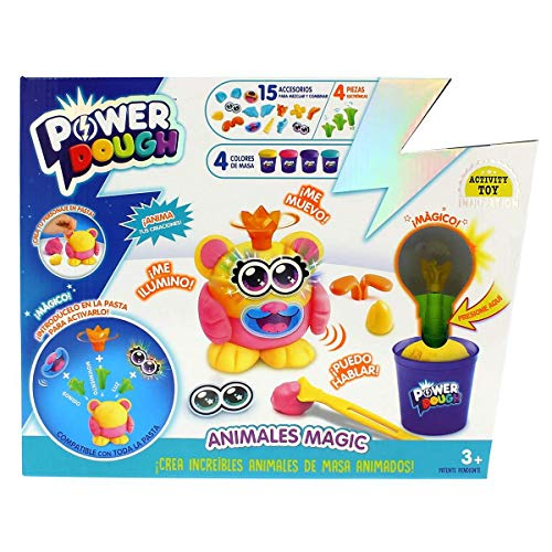 POWER DOUGH, multicolor (Canal Toys Amazon ES1 DP016) , color/modelo surtido