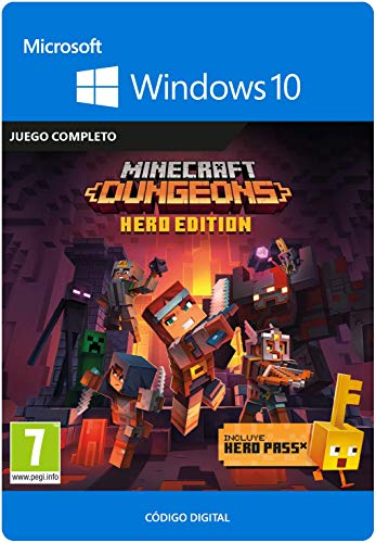 Minecraft Dungeons:  Hero Edition | Windows 10 PC - Código de descarga